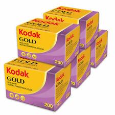 5x Kodak Gold 200asa Cheap Colour Film 35mm 36exp