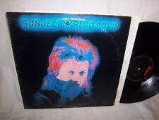 ALDO NOVA-SUBJECT PORTRAIT FR 38721 VG+/VG LP
