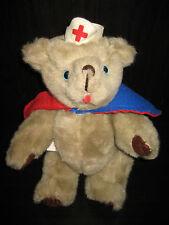 Vintage Kent Collectibles Jean Steele Originals Jointed Bear Red Cross Nurse