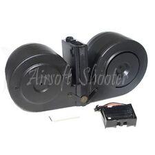 Airsoft Parts BATTLEAXE 2500rd Drum Electric C-Mag Magazine For M-Series AEG