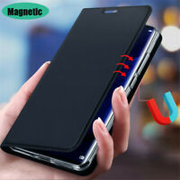 For Samsung Galaxy Note 20 Ultra 10 9 8 Magnetic Leather Wallet Flip Case Cover