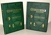 A Christmas Carol  Charles Dickens - Christmas Books / Stories  2 HB Books