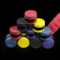10pcs x Absorb sweat stretchy Tennis Squash Racquet Grip Tape Band Overgrip Z6N8