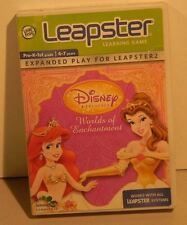 Leapster Disney Princess Worlds Of Enchantment For The Leapster