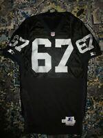 Dan Turk #67 Los Angeles Raiders NFL Team Game Used Worn Jersey 50