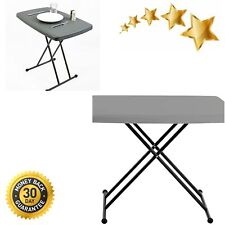 New listing IndestrucTable Too 1200 Series Resin Personal Folding Table 30 x 20 Charcoal