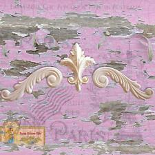 Shabby Chic Furniture Molding Furniture Applique Carving Scrolls Decor Art Onlay