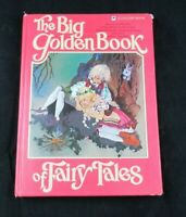 THE BIG GOLDEN BOOK OF FAIRY TALES FROM 1981.