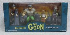 2004 ERIC POWELL's THE GOON 4-Piece PVC SeT  MiNt-In-Box  NRFB Dark Horse Comics