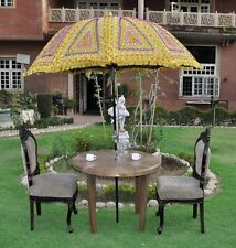 Lal Haveli Ethnic Handmade Decorative Embroidered Design Vintage Umbrella 52 X 7