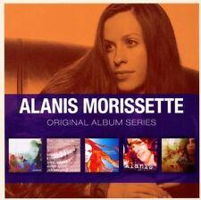 ALANIS MORISSETTE ORIGINAL ALBUM SERIES: 5CD SET (2012)