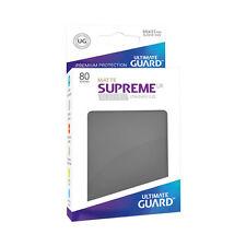 80 Matte Dark Grey Ultimate Guard SUPREME DECK PROTECTOR SLEEVES Standard Size