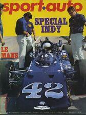 SPORT AUTO n°90 07/1969 24h du MANS INDY 500 AVEC ENCART