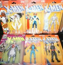 "Marvel Legends 6"" X-Men Retro Vintage STORM CYCLOPS ICE MAN WOLVERINE IN STOCK"