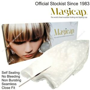 Cap for high lighting hair with bleach and colours Hi lighting streaking MAGICAP