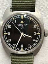 Hamilton Military Watch,Vintage,Manual Winding,August 1972 '!