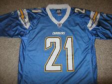 LaDainian Tomlinson LT San Diego Chargers NFL Football Jersey Baby Blue Reebok L