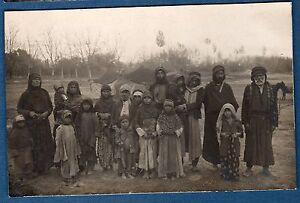 Photo Card Stironi - Syria 1925 1926 Groupe De Bedouin