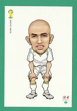 FOOTBALL - DUHZE POSTCARD OF CHINA - FOOTBALL WORLD CUP 2014  - SOFIANO FIGHOULI