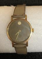 VTG Movado Zenith 17 Jewel 20.0510.305 Women's Watch Gold Electroplated Bezel