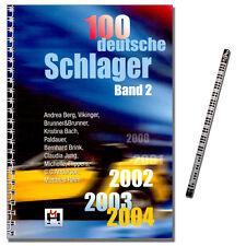 100 Deutsche Schlager, Band 2 - 2002 ... 2004 - Verlag Hildner 9783932839399