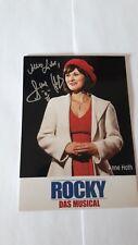 Rocky - Hamburg - Musical Autogrammkarte - Anne Hoth
