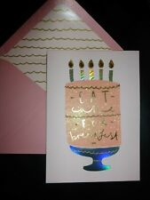 Papyrus Gorgeous Happy Bithday Card- Eat Cake for breakfast! (female)