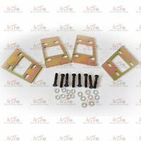 Zinc Coated Gearbox Spacer Kit 6/12mm for Nissan Patrol GQ GU Y60 Y61 W/ Blots