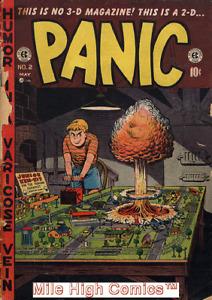PANIC (1954 Series) #2 Good Comics Book