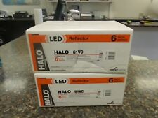 """Lot (2) Brand New Halo 61VC 6"""" Series Commercial LED Reflectors Cooper Lighting"""