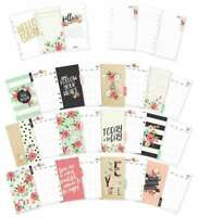 Carpe Diem Bloom Double-Sided Personal Planner Inserts Monthly, U 816502024761