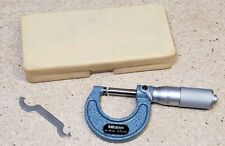 Mitutoyo 0 Mm To 25 Mm No 103 125 Carbide Tipped Micrometer Withcase Metric