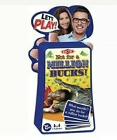 Lets Play Not For A Million Bucks Family Fun Travel Camping Game Age 15+