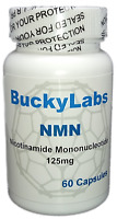 NMN - Nicotinamide Mononucleotide NAD Booster, 125 mg, 60 Capsules