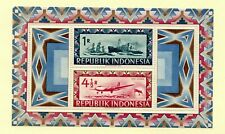 Indonesia 1948 ISSUE SC#61 MNH SOUVENIR SHEET