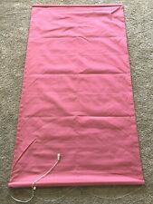 Pottery Barn Teen Pink Roman Shade 36x63 Lined Cotton