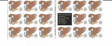 US Postage Scott #2596 A Eagle & Shield 1992 Brown 29c Booklet MNH