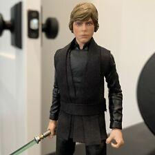 "Custom Fabric Luke Skywalker Jedi Tunic - Black Series 6"" / SH Figuarts"