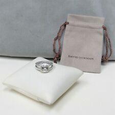 David Yurman Classic Ring Albion Petite White Topaz With Diamond