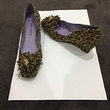 Size 8.5 Leather Pumps By Robert Robert Leopard Shoes