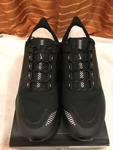 Nike air zoom Pegasus 36 shield men's running trainers BNIB uk size 10.5 black