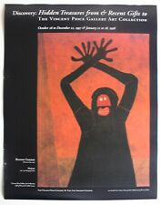 Vintage 1997 Poster Protesta Rufino Tamayo Vincent Price Gallery Arts Collection