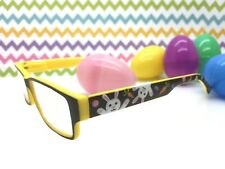 Handpainted Easter Reading Glasses 1.25, Bunny, Carrots, Jelly Beans, Polka Dots