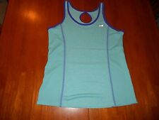 Avia womens shirt size S small yoga athletic tank top MINT cond