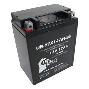 UB-YTX14AH-BS Battery Replacement for 2000 Polaris Sportsman HO 500 CC ATV