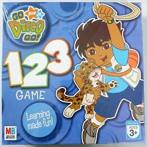 Go Diego Go! 123 Game - Preschool Learning Board Game - Milton Bradley