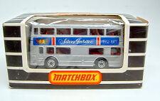 """Matchbox SF Nr.17B The Londoner """"Silver Jubilee"""" unlackierte Bodenplatte top"""
