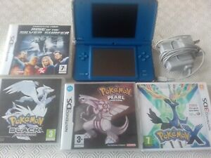 NINTENDO DS XL CONSOLE + 4 GAMES