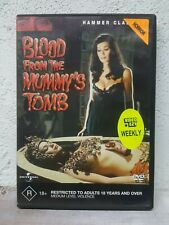 Blood from the Mummys Tomb DVD - 1971 HAMMER HORROR MOVIE RARE - Original Cover