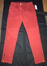 BNWT RED JEGGINGS JEANS 10 Petite RRP £30